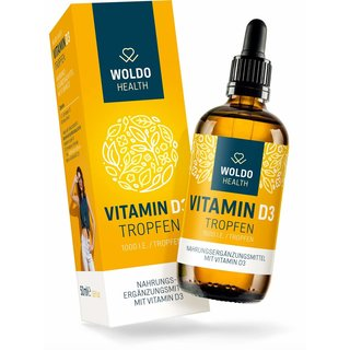 WoldoHealth - Vitamin D3 Tropfen 50ml