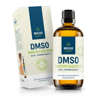 WoldoHealth - DMSO Dimethylsulfoxid 99,9% Reinheit (100ml)