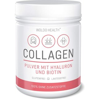 Woldo Health - Collagen mit Hyaluron & Biotin 500g